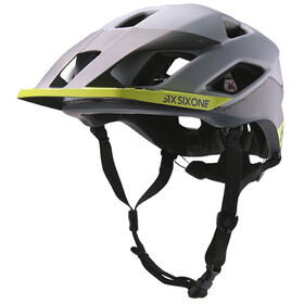 SixSixOne EVO AM Patrol Bike Helmet grey